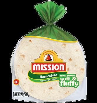 Mission Soft Taco Homestyle Flour Tortillas