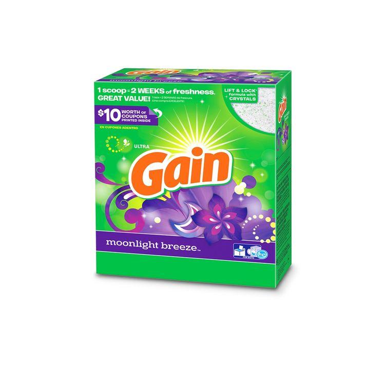 Gain Moonlight Breeze Powder Laundry Detergent