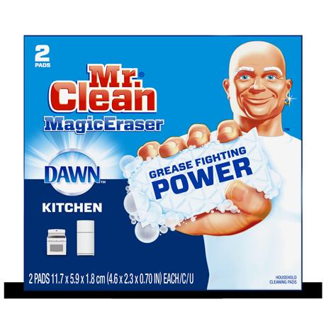 Mr. Clean Magic Eraser Kitchen with Dawn
