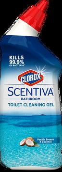 Clorox® Scentiva® Bathroom Toilet Cleaning Gel