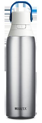 Brita Premium Filtering Water Bottle - Stainless Steel
