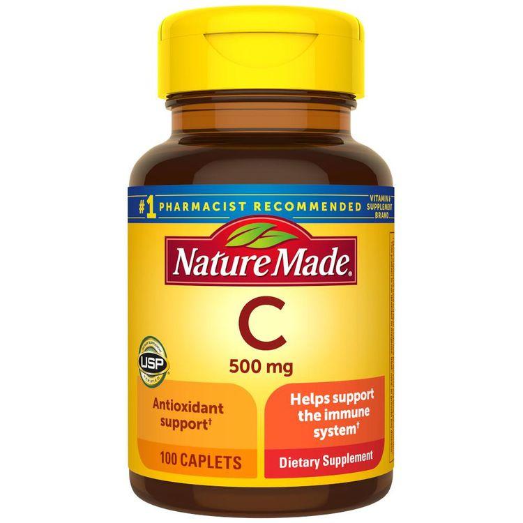 Nature Made Vitamin C 500 mg Caplets