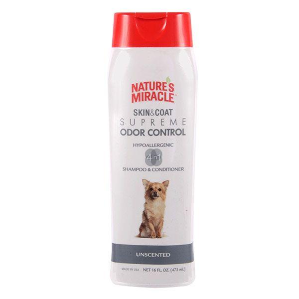 Nature's Miracle Skin & Coat Supreme Odor Control - Hypoallergenic Shampoo & Conditioner