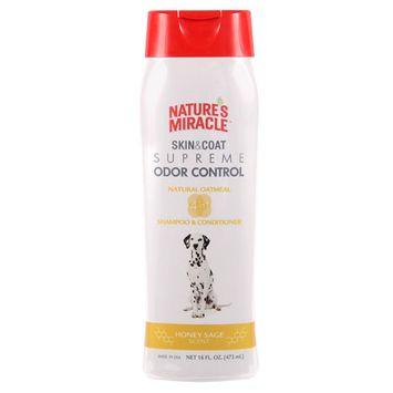 Nature's Miracle Skin & Coat Supreme Odor Control - Oatmeal Shampoo & Conditioner