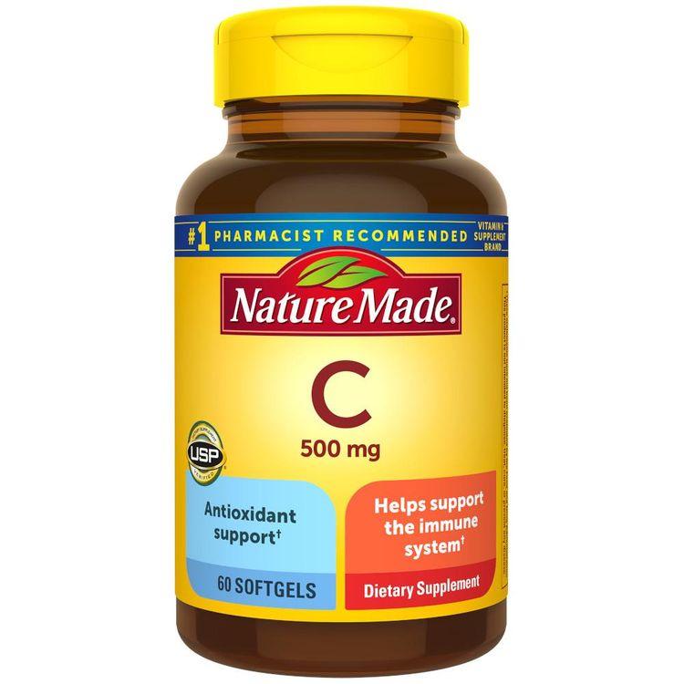 Nature Made Vitamin C 500 mg Softgels