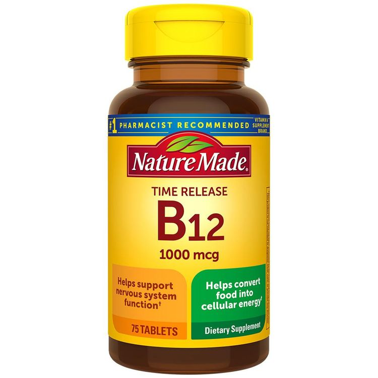 Nature Made Vitamin B12 Time Release 1000 mcg Tablets