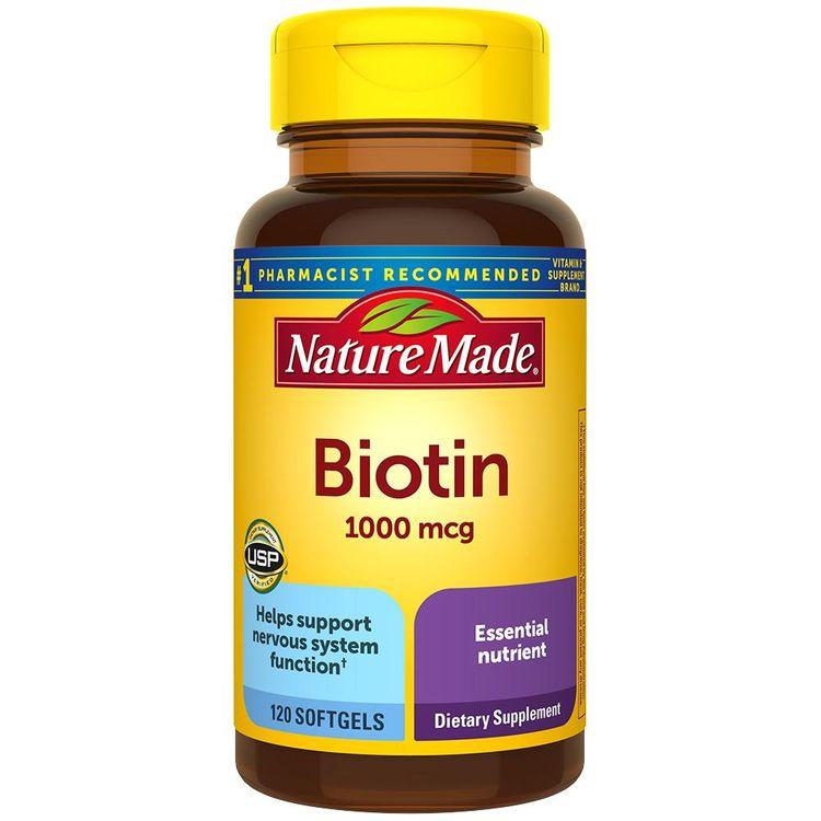 Nature Made Biotin 1000 mcg Softgels