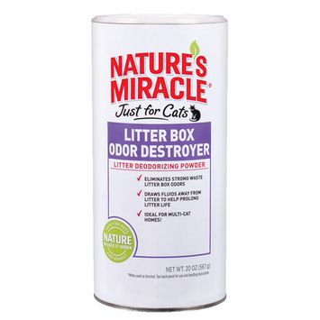 Nature's Miracle Litter Box Odor Destroyer - Powder