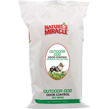 Nature's Miracle Outdoor Dog Wipes