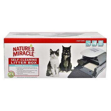 Nature's Miracle Multi-Cat Self Cleaning Litter Box - Discontinued