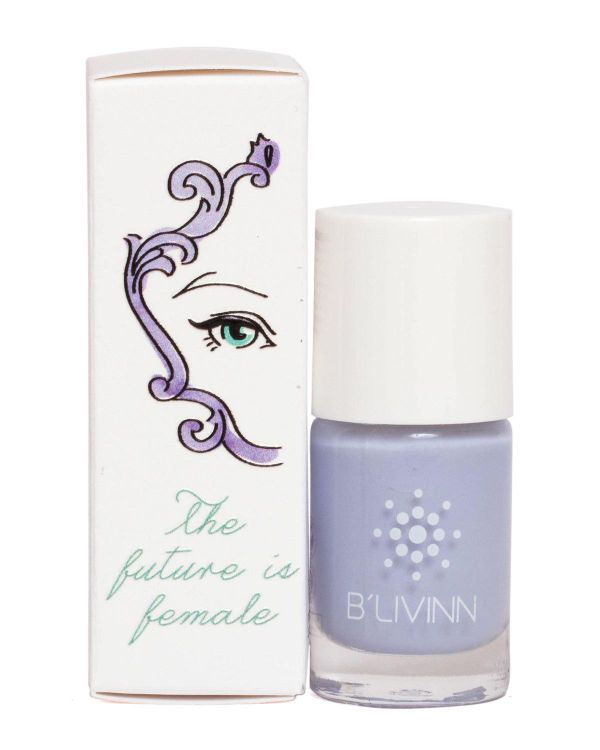B'livinn Nail Polish with Custom Case - The Future is Female