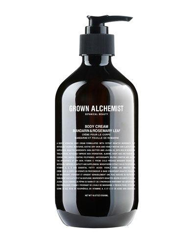 Grown Alchemist Body Cream: Mandarin & Rosemary Leaf, 500ml