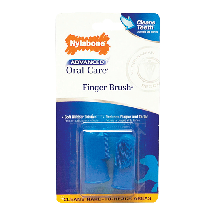 Nylabone Advanced Oral Care Finger Brush