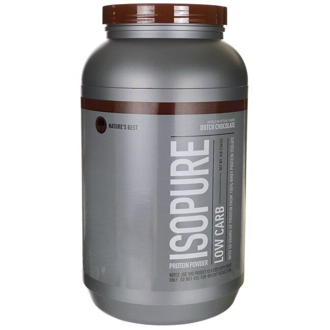 Isopure Low Carb - Dutch Chocolate