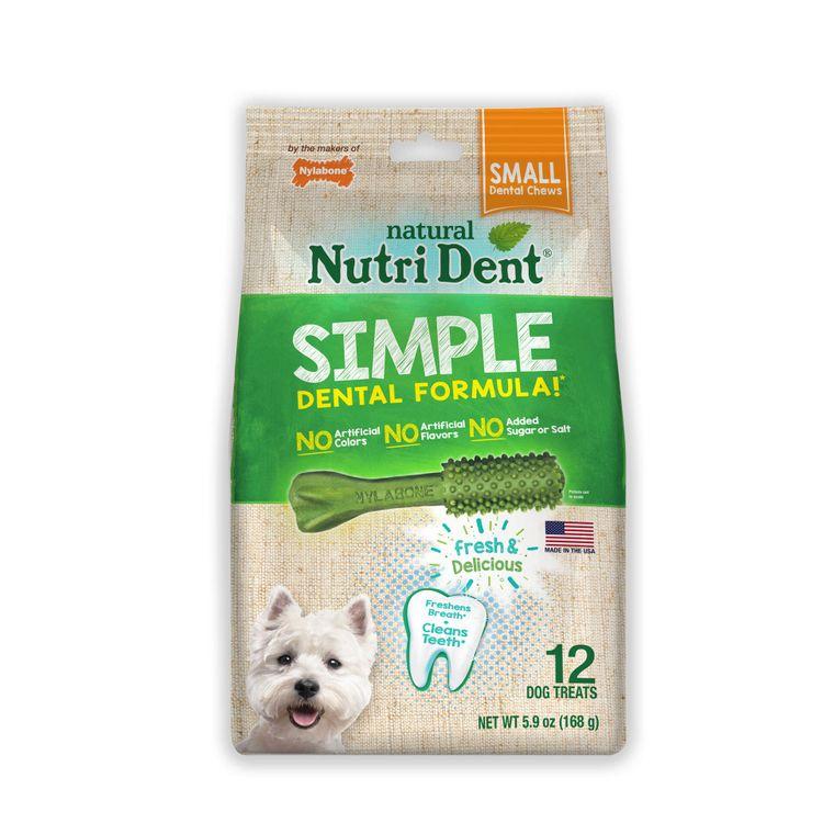 Nylabone Nutri Dent Simple Dental Formula Chews