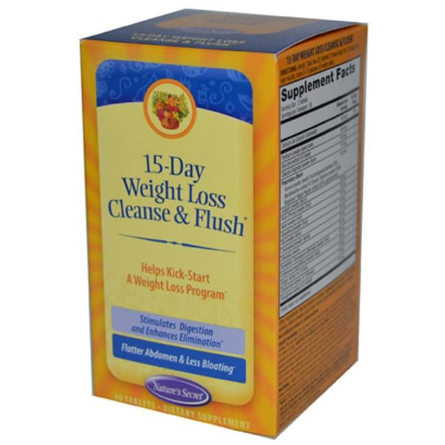 15-Day Weight Loss Cleanse + Flush