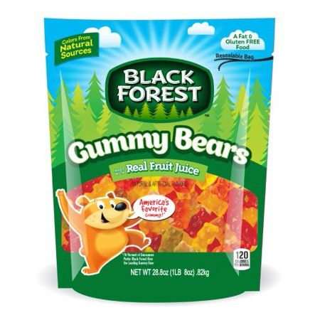 Black Forest, Gummy Bears Candy, Fruit