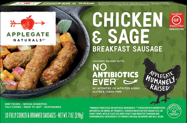 Applegate Natural Chicken and Sage Breakfast Sausage