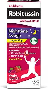 Robitussin Nighttime Cough Long-Acting DM
