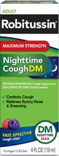 Robitussin Maximum Strength Nighttime Cough DM