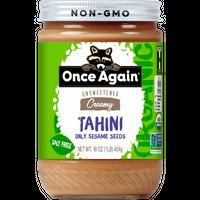 Nut Butter Organic Tahini