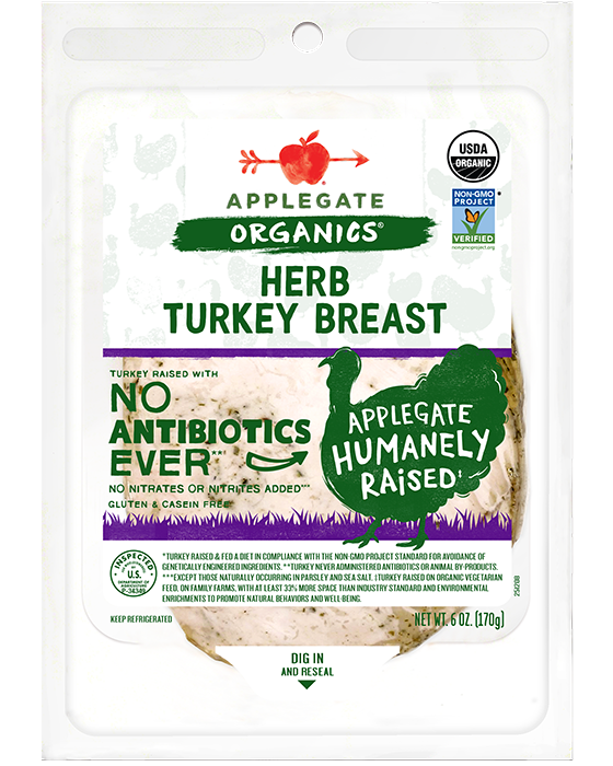 Applegate Organic Herb Turkey Breast