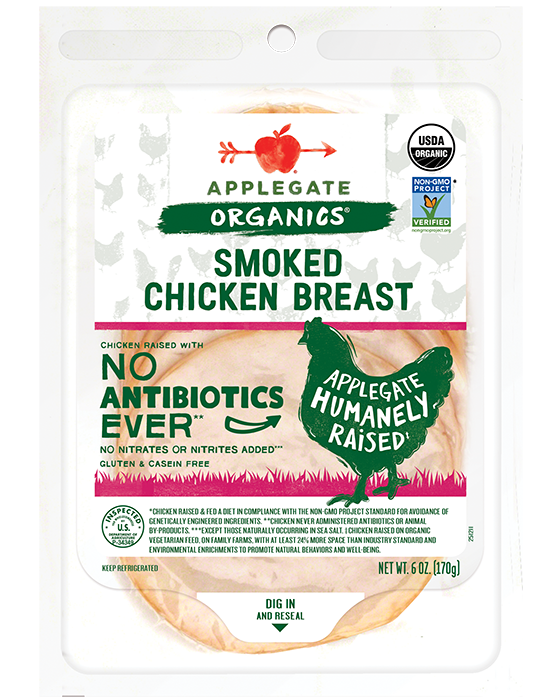 Applegate Organic Smoked Chicken Breast