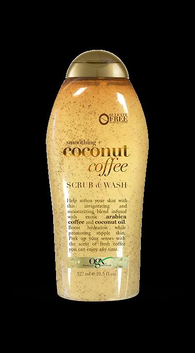 OGX Coconut Coffee Scrub & Wash