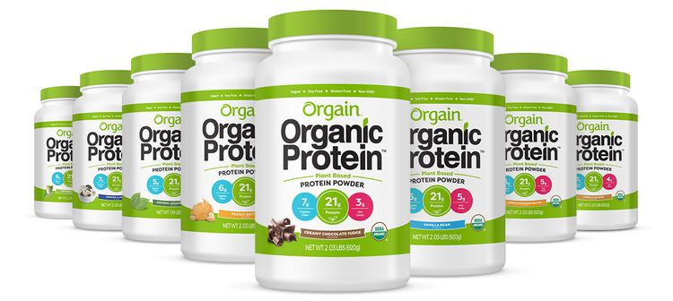 Orgain Organic Protein Powder - Plant Based Pumpkin Spice 1.02lb