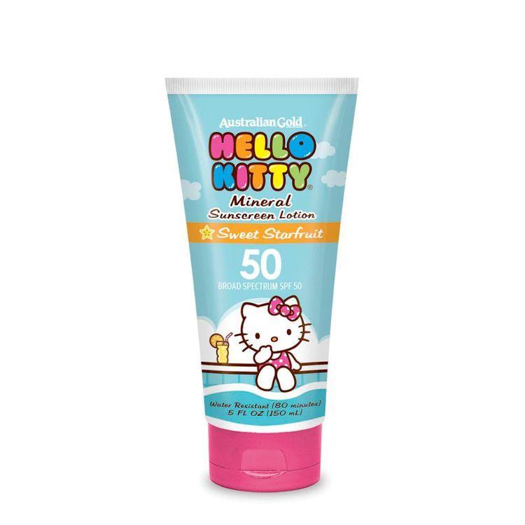 Australian Gold Hello Kitty SPF 50 Mineral Lotion
