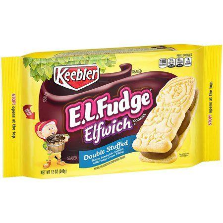 Keebler E.L. Fudge Elfwich Cookies, Double Stuffed Original