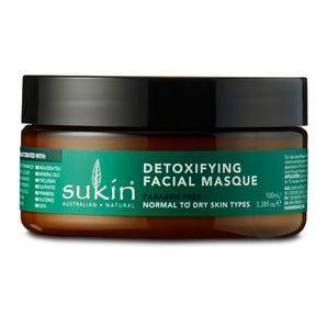 Sukin Detoxifying Clay Masque - Super Greens 100ml