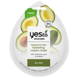 Yes To Avocado Fragrance-Free Hydrating Cream Mask
