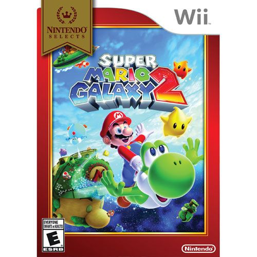 Nintendo Wii - Nintendo Selects - Super Mario Galaxy 2