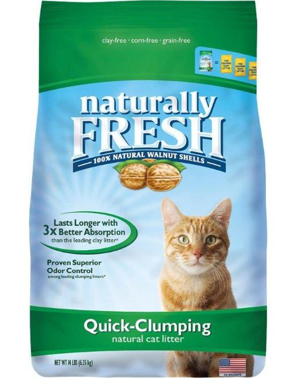 ES21001 6 lbs Naturally Fresh Quick Clumping Cat Litter