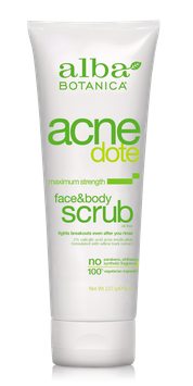 Alba Botanica Acnedote® Face & Body Scrub