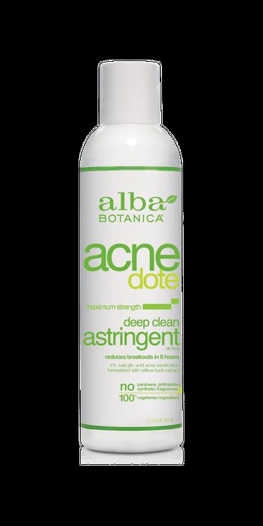 ALBA BOTANICA ACNEDOTE® DEEP CLEAN ASTRINGENT, 6 OZ.