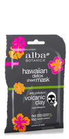 Alba Botanica Anti-Pollution Volcanic Clay Sheet Mask, 1 CT.