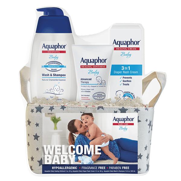 Aquaphor Welcome Baby Gift Set Value Size