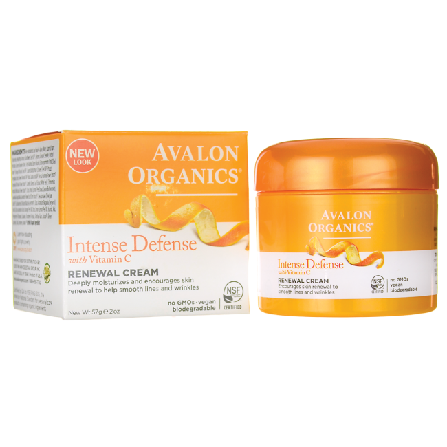 Intense Defense with Vitamin C Renewal Cream