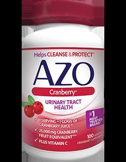AZO Cranberry Softgels 100CT