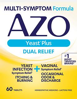 AZO Yeast Plus