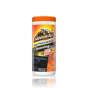 Armor All Orange Air Freshening Car Cleaning Wipes (25 Count)