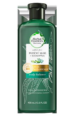 Herbal Essences Potent Aloe + Eucalyptus Sulfate Free Shampoo