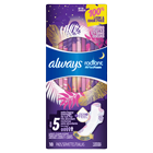 Always Radiant Size 5 Extra Heavy Overnight Pads, Light Clean Scent