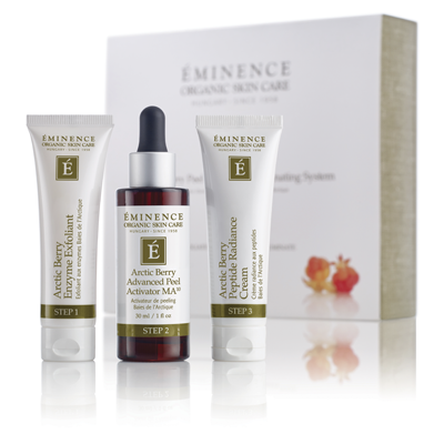 Arctic Berry Peel and Peptide Illuminating System