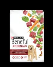 Beneful Originals Dry Dog Food with Farm-Raised Beef