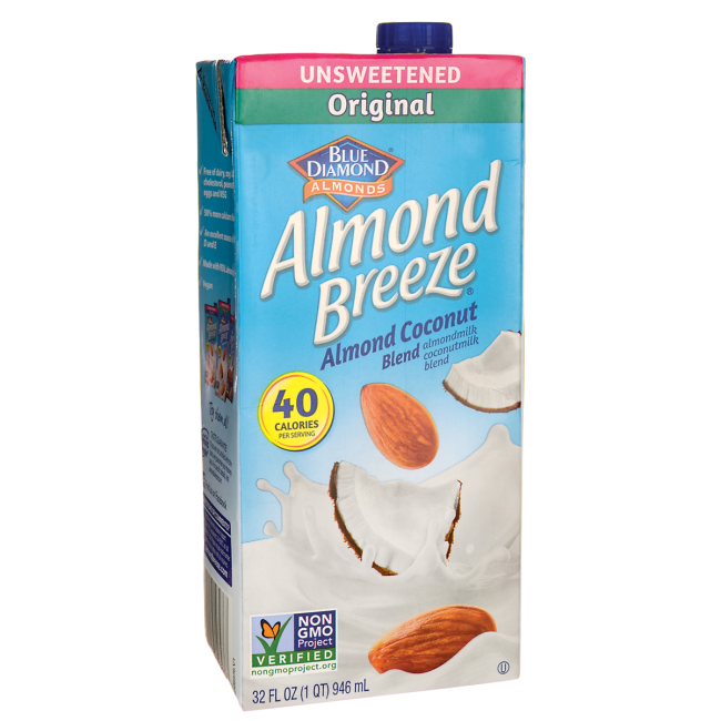 Almond Coconut Blend - Almond Breeze Original Unsweetened