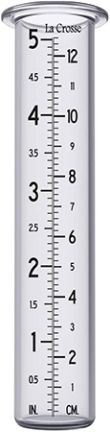 La Crosse Rain Gauge Holder Replacement Glass Tube
