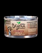 Beyond Grain Free Quail & Carrot Recipe Paté Wet Cat Food